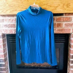 Sonoma brand teal turtleneck top size XL
